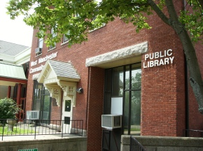 West Manchester library branch, Piscataquog; from Manchester Library