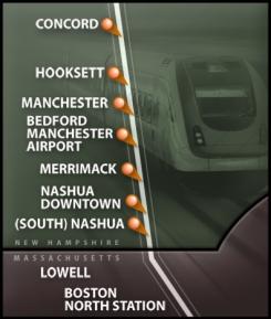 NH Capitol Corridor route