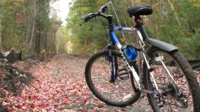 Many of the rail trails south of Manchester remain unfinished - photo from Monopolybag