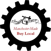 Speculative Buy Local logo for Manchester hastily designed by LivableMHT - a real one should be created & used