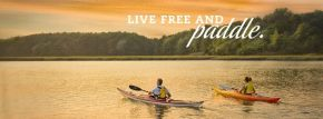 "Part of New Hampshire's new ""Live free and..."" tourism campaign."