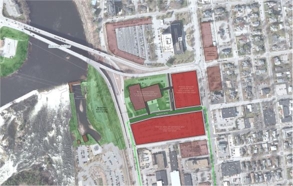 LivableMHT presents one potential vision of redevelopment at and around the Armory site