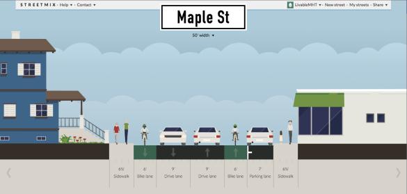 Maple St