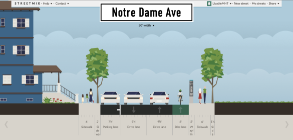 Notre Dame Ave