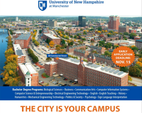 UNH Manchester emphasizes its urban setting